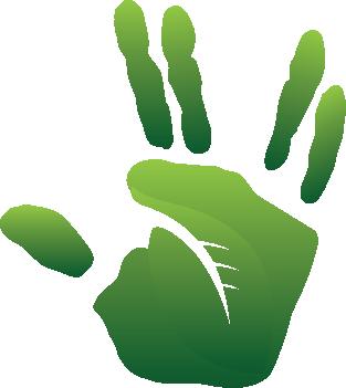HAND Green Spock